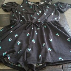 Girls Mudd romper